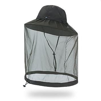 Waifei Outdoor Anti Mosquito Hat Bush Bucket Festival Hat UPF40 + Bee  Beekeeper Hat dd0dd54d2146