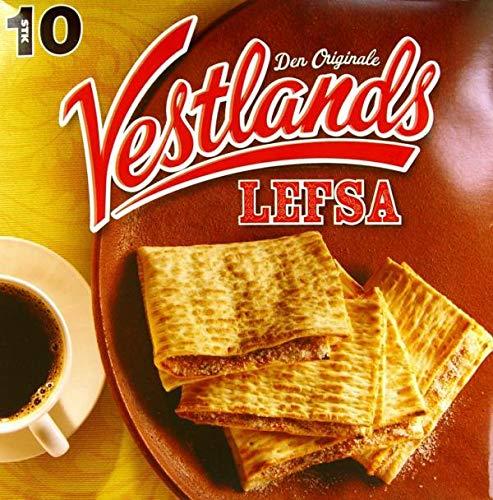 Vestlands Lefse 10-PK Case of 8