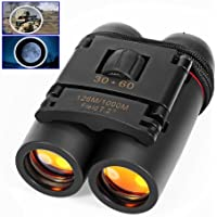 REDGO REDGO Pocket Size Compact 30X60 Telescopes Folding Binoculars for Birdwatching Watching Wildlife and Scenery Camping Sightseeing