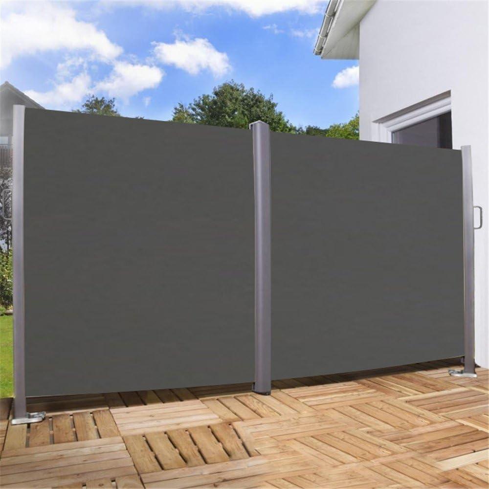 Tenda laterale doppia da campeggio per la privacy protezione solare per terrazzo paravento tendalino in poliestere