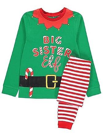 George Family Elf Christmas Festive Xmas Pyjamas Mum Dad Brother Sister    More (Grandad - 4c0178c15
