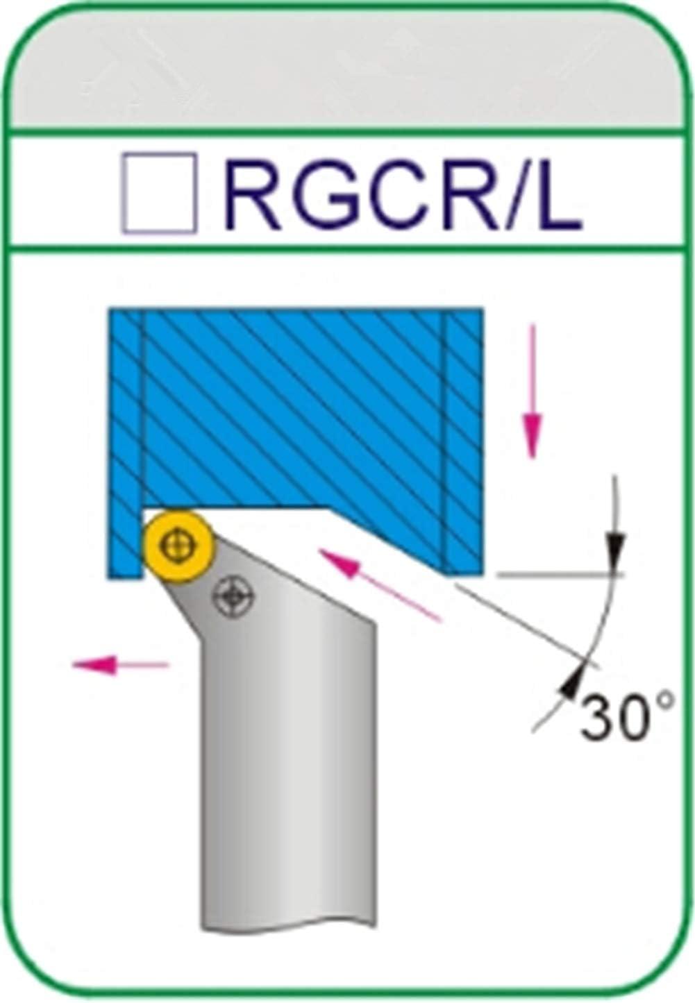 Gaobey SRGCL 2020K06 Index External Lathe Turning Holder For RCMT inserts