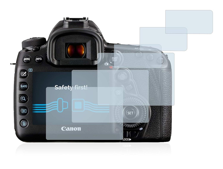 6 Pezzi Savvies Pellicola Protettiva Compatibile con Canon EOS 5D Mark IV Protezione Schermo