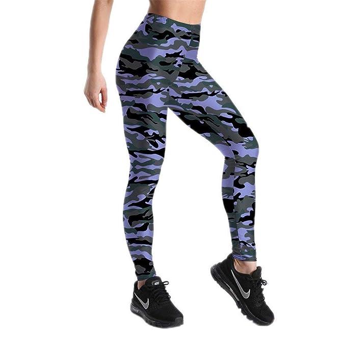 Huixin Leggings Moda Fitness Mujer Pantalones Clásico Pantalones ...