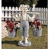 Flowers For Felicity Statue Design Girls Garden Garden Planters
