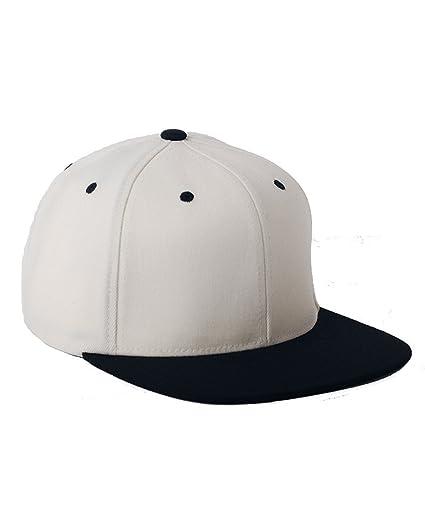 078857ae53b Flexfit 110 Wool Blend Solid Snapback Cap