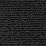 Indoor Outdoor Carpet Indoor/Outdoor Carpet with Rubber Marine Backing - Black 6' x 10' - Several Sizes Available - Carpet Flooring for Patio, Porch, Deck, Boat, Basement or Garage