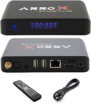 Arrox ZX One Plus 4 K IPTV Receptor 3D Android 7.1 Streaming Caja ...