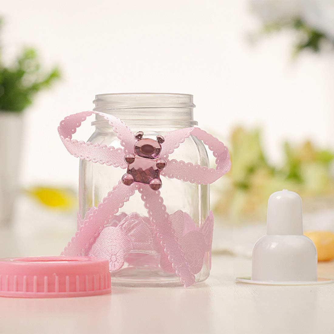 YVSoo 12Pcs Biberones Caja Caramelos Transparente Mini ...