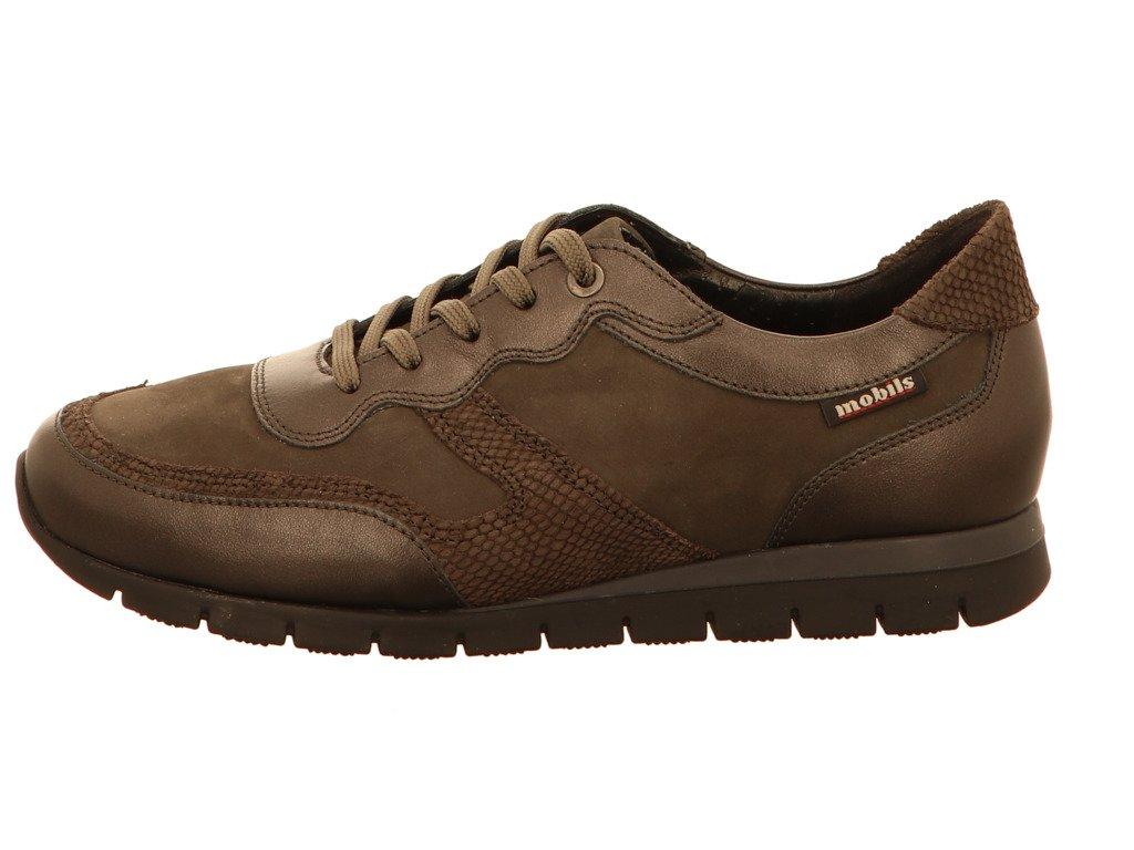Mephisto K1428 Vv7 - Zapatos de cordones para mujer 5.5|Gris