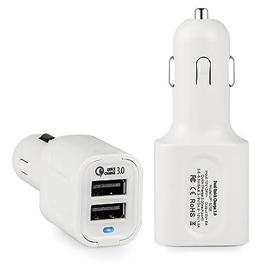 Carga rápida 3.0, elepower rápida USB cargador de coche con ...