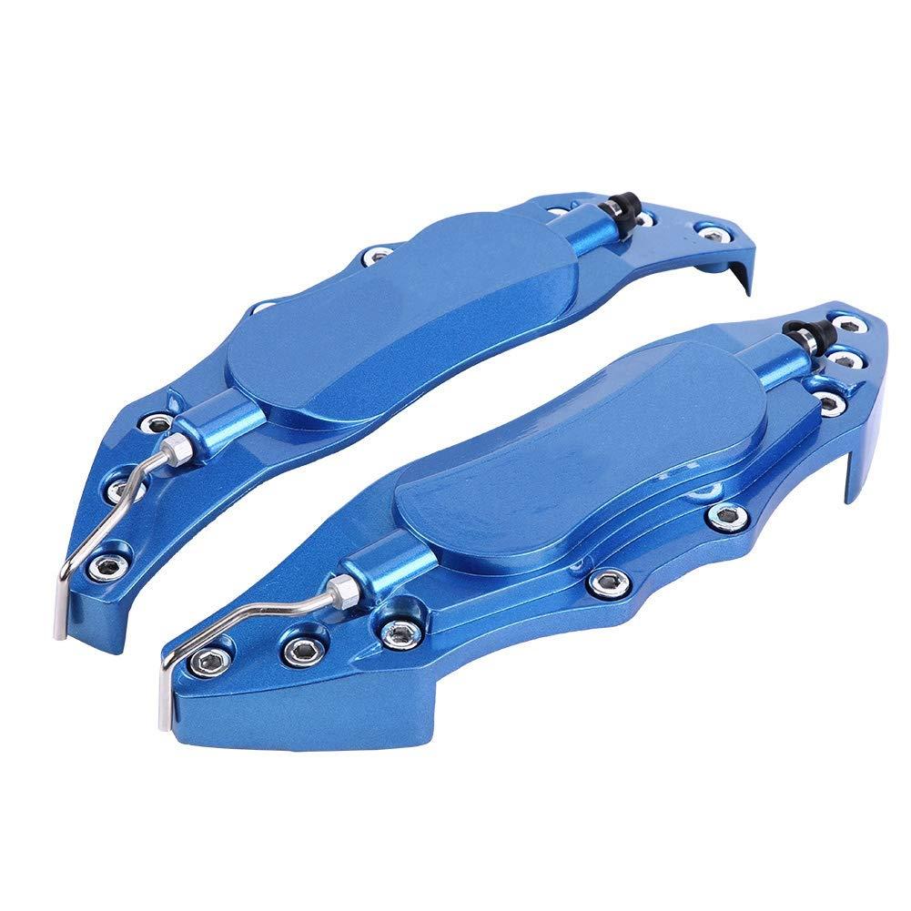 19 pouces grand KIMISS 2 pi/èces 18-19 pouces Cache Etrier de Frein de Voiture,/Étrier de Frein Protecteur en Aluminium /Étrier de Frein Sans fin Bleu//Rouge pour moyeu de roue 18 pouces Bleu