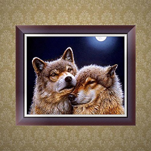 SCASTOE DIY 5D Animal Diamond Embroidery Painting Cross Stitch Kit Home Decor