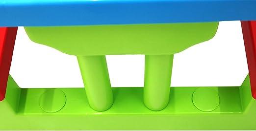 Oypla Kids para niños de Picnic Banco del Vector Conjunto al Aire Libre Muebles de jardín: Amazon.es: Jardín