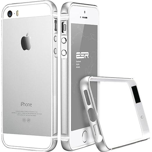 62 opinioni per Custodia per iPhone 5s,Cover per iPhone 5 se in Silicone, ESR® Only Metal