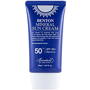 Benton Mineral Sun Cream SPF50+/PA++++ 50ml