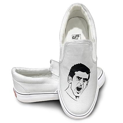 Amazon.com  TAYC Super Tennis Star Djokovic Fashion Sneaker White ... 47ae35b2cae