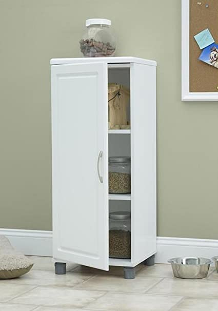 16-inch White Kendall Stackable Storage Cabinet Storage Cabinets (overall) 38.25Hx15 & Amazon.com: 16-inch White Kendall Stackable Storage Cabinet Storage ...