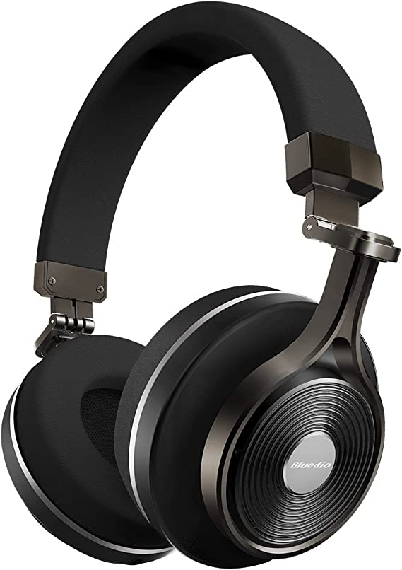 Amazon.com: Bluedio T3 Extra Bass Bluetooth Headphones On Ear with ...