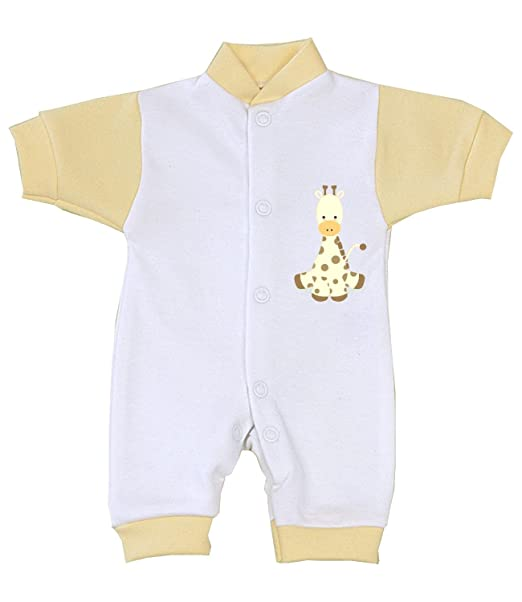 Amazon.com: BabyPrem prematuro bebé Romper Playsuit Jirafa ...