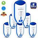 Ultrasonic Pest Repeller, Pest Reject, Newest Electronic Insects & Rodents & Pests Repellent, Pest Control Non Toxic Humans Pets Safe Solution for Mosquitoes, Mice, Cockroaches, Rats, Bed Bugs, Spider