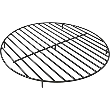 Sunnydaze Round Steel Outdoor Fire Pit Grate, 40-Inch - Amazon.com : Sunnydaze Round Steel Outdoor Fire Pit Grate, 40-Inch