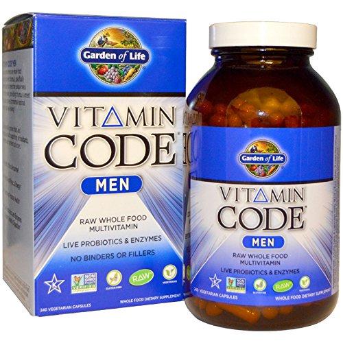 Garden of Life, Vitamin Code, Men, 240 Vegetarian Capsules (Garden Of Life Living Multi Optimal Formula)