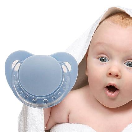 Bebé Niño divertido Dummy Barba Bigote Chupete Pino ...
