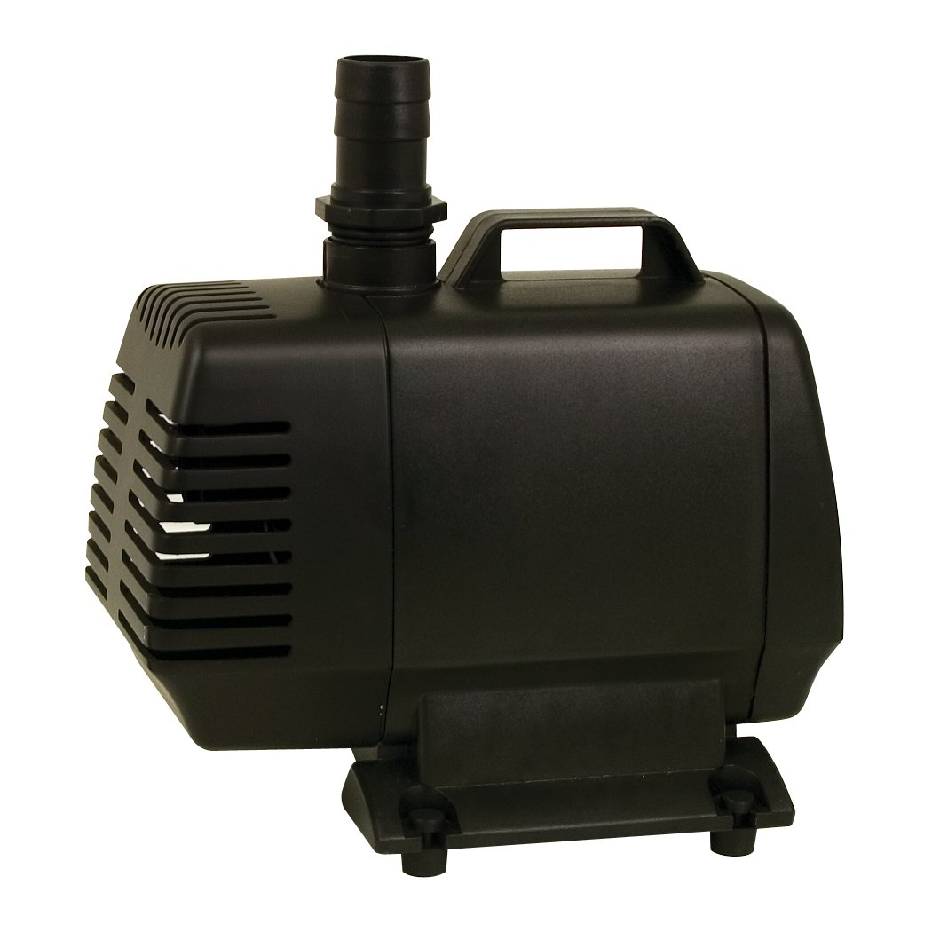 Tetrapond water garden pump 1000 gph ponds fish pond for Garden water pump