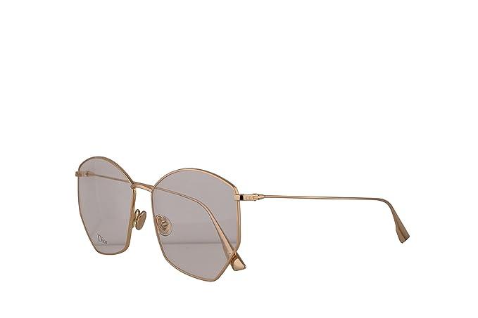34b97a367ff Amazon.com  Christian Dior DiorStellaire04 Eyeglasses 58-15-145 Gold w Demo  Clear Lens J5G DiorStellaireO4 Dior StellaireO4 Dior Stellaire04  DiorStellaireo4 ...