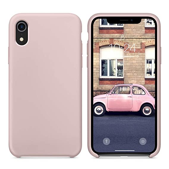 new product d8ad6 056b5 SURPHY Silicone Case for iPhone XR, Slim Liquid Silicone Soft Rubber  Protective Phone Case Cover (with Soft Microfiber Lining) Compatible with  iPhone ...