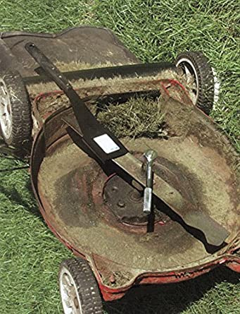 Amazon.com: Lawn Mower Blade Holder, 8 In. Handle