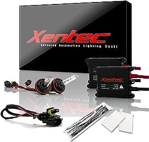 Xentec H11 (H8/H9) 6000K HID Xenon Bulb bundle with 55W EPE Alloy Slim Ballast (Ultra White)