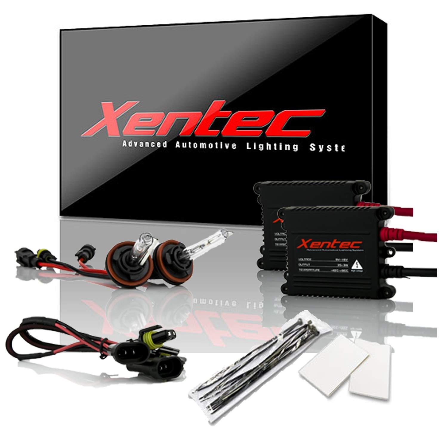 Lightning Blue H8//H9 Xentec Xenon bulb H11 8000K x 1 pair bundle with 2 x 35W Digital Slim Ballast