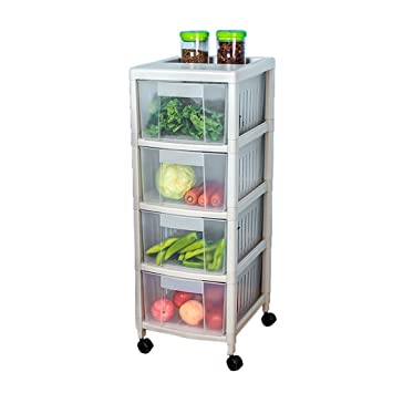 Anyer Kunststoff Aufbewahrungsbox Obstkorb Gemusekorb Fertigbox