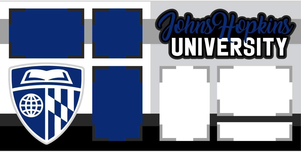 Johns Hopkins University Scrapbook Page Kit