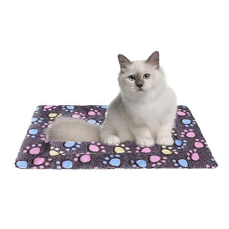 POPETPOP Cojín cómodo y cómodo para Mascotas, Perros, Gatos y Gatos para Dormir,