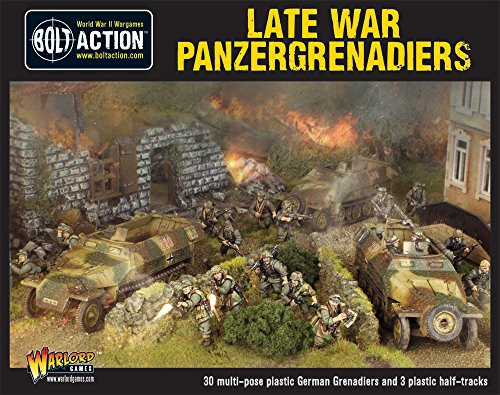 Bolt Action: Late War Panzergrenadiers by Warlord Games