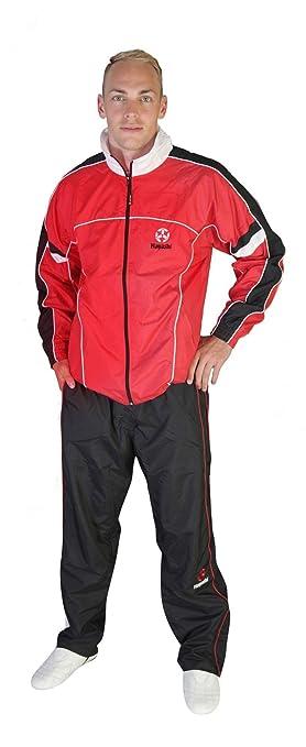 TopTen 152 - Chándal con pantalón de chándal, Color Rojo y Negro ...