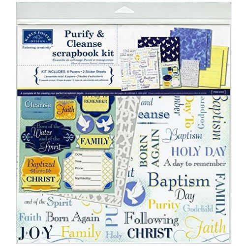Karen Foster Design Themed Paper and Stickers Scrapbook Kit, - Paper Free Scrapbook