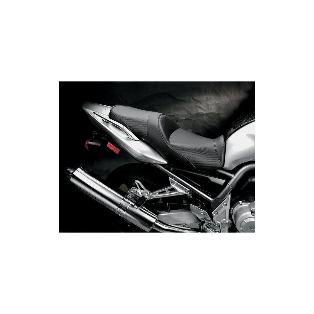 Sargent World Sport Seat Black With Black Accent for Yamaha FZ1 2001-2005 by Sargent