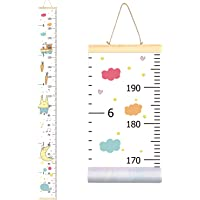 """Sylfairy Growth Chart, Kids Wall Ruler Removable Height Measure Chart for Boys Girls Growth Ruler Unicorn Wall Room Decoration 79''7.9'' 79""""x7.9"""" unknown"""