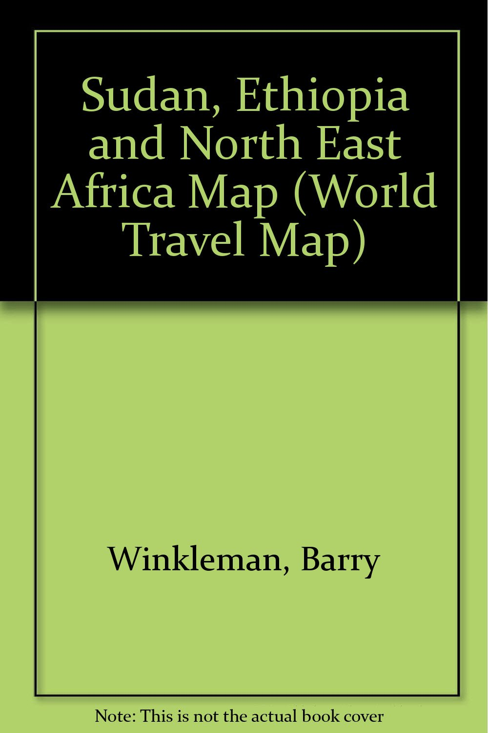 Sudan, Ethiopia and North East Africa Map (World Travel Map)