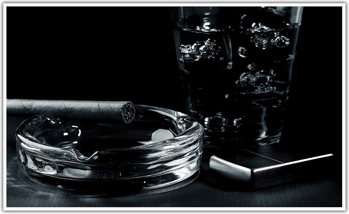 K/önighaus Fern Infrarotheizung Mit Smart Thermostat Sonnenblumenfeld Ölgemälde Black Edition/_WR K/önighaus APP /übers Handy 1000 Watt -188 Bildheizung in HD mit T/ÜV//GS 200+ Bilder