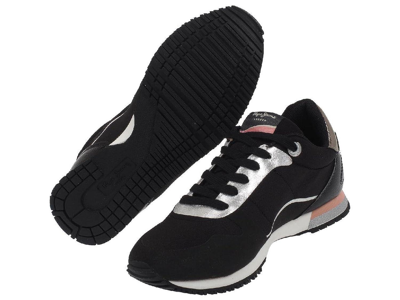 Pepe Jeans Sydney Glue Noir Girl - Chaussures Mode Ville - Noir - Taille 39 BjSE7wX