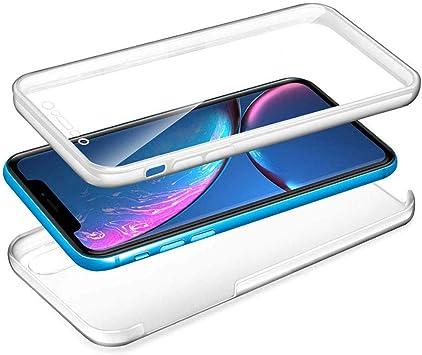 YuhooTech Huawei Honor 8X Funda Doble Cara 360 Grados Full Cover ...