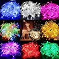Commart 2 PCS 10M 100 LED Christmas Tree Fairy String Party Lights Lamp Xmas Waterproof Ship From USA