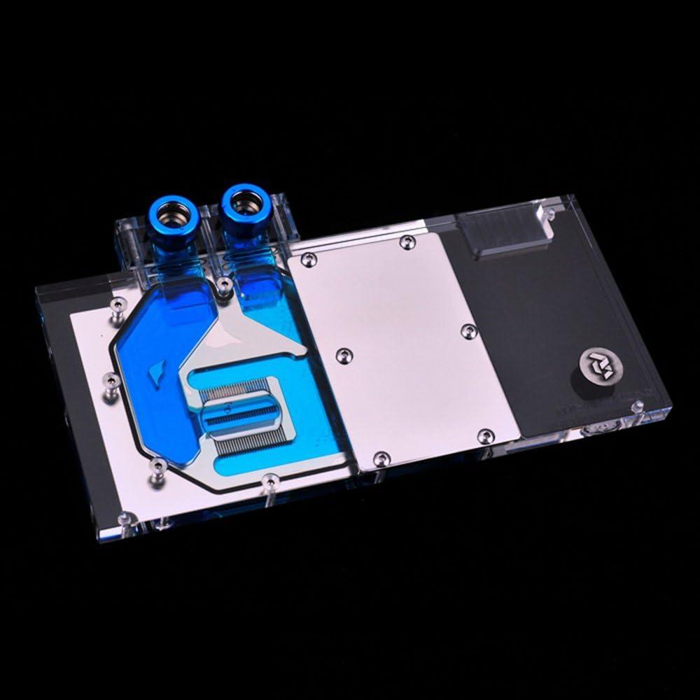 Bykski RGB VGA GPU Water Cooling Block for Colorful igame GTX 1080 Ti 1080 1070TiVulcan X OC