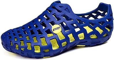 gracosy Zapatos para Caminar Hombres Mujer Transpirable Casual para Slippers Camisa de Verano Camisa de Planchado Ligera y de Secado Rápido Aqua Pool Flat Raspar Zapatillas de Playa