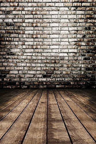 GladsBuy Stone Wall 8' x 12' Digital Printed Photography Backdrop Wall Theme Background YHA-217 by GladsBuy